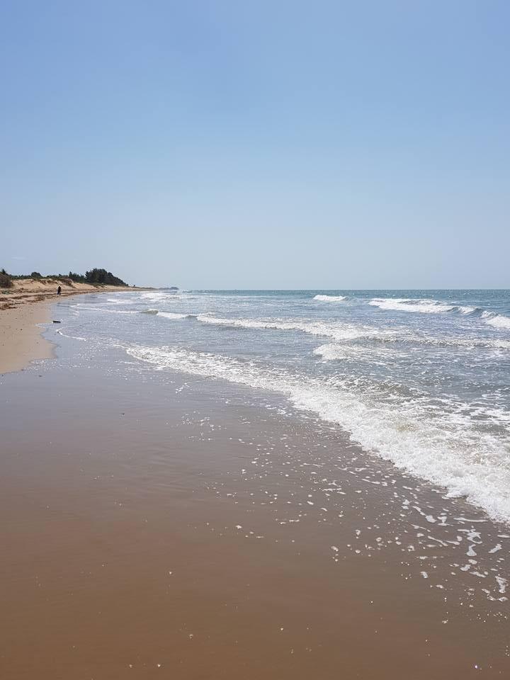 La plage d'Abéné